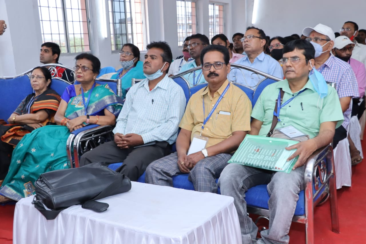 District Level Exhibition workshop attending by our college teachers, Dr. Rabiul Islam, Dr. S.Panjiyara, Prof. Manoj Kumar as a panel of jury.